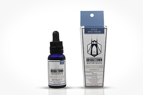 Full Spectrum Hemp Extract Oil - 1000mg