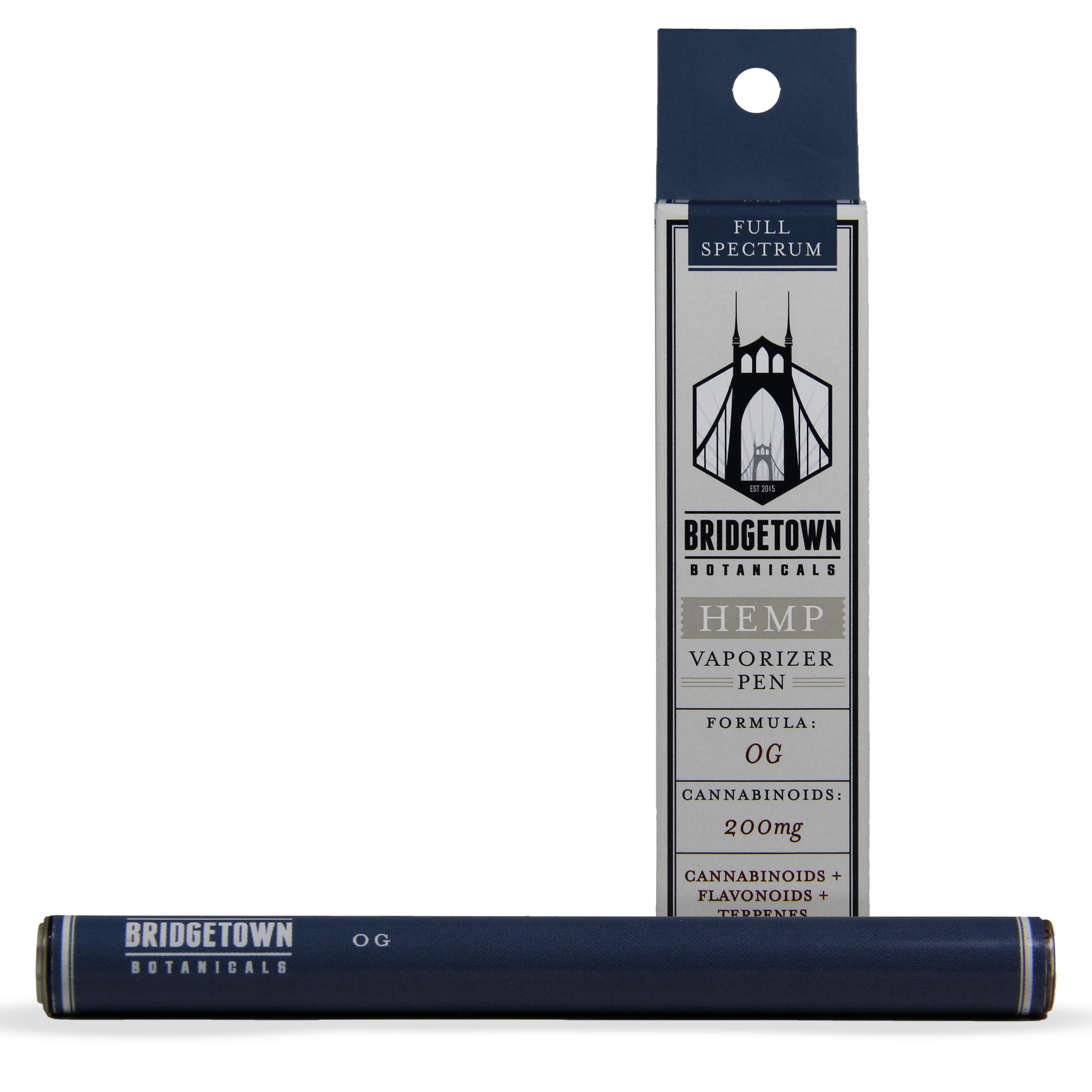Hemp Vaporizer Pen - 200mg (OG)