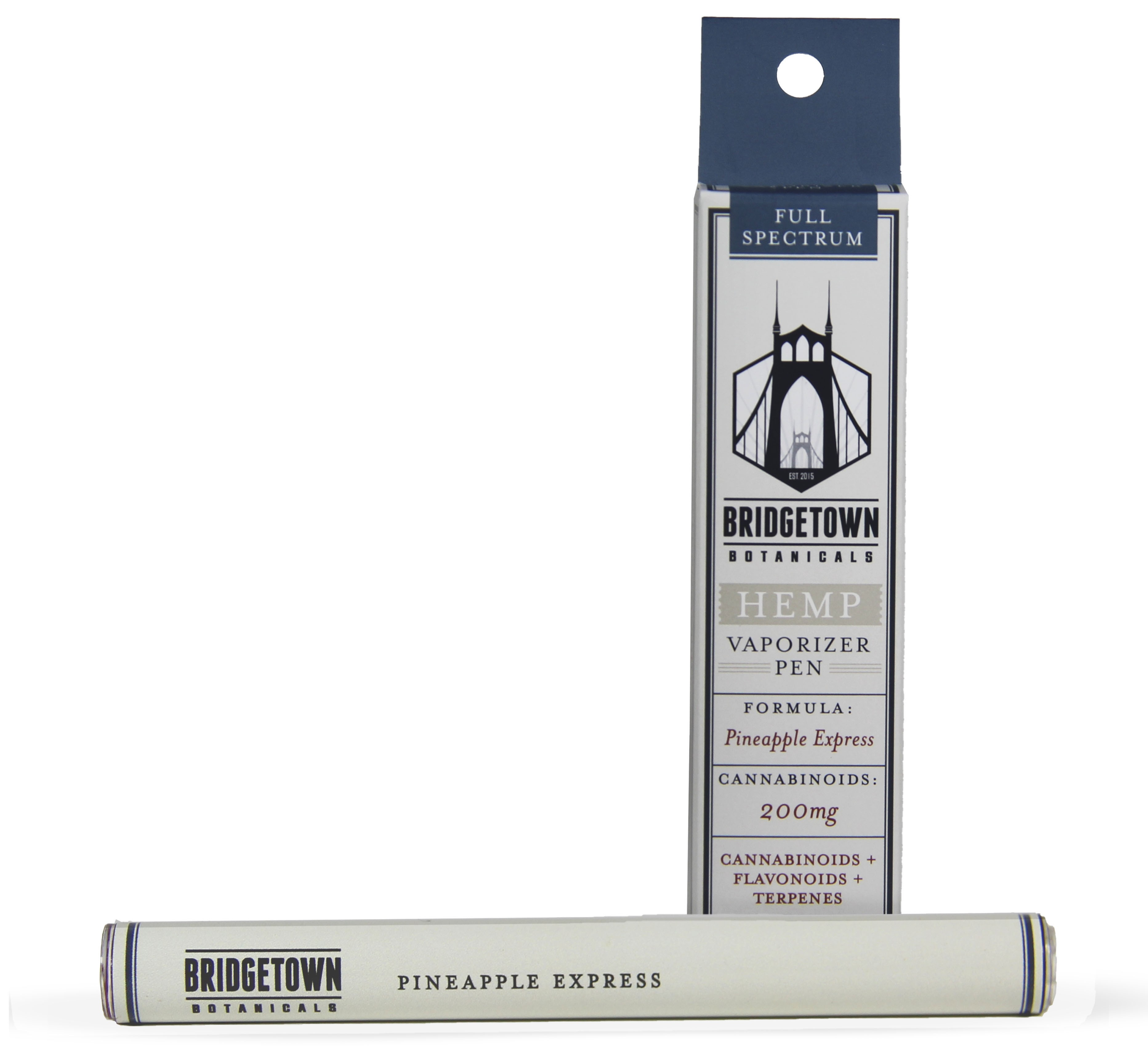 Hemp Vaporizer Pen - 200mg (Pineapple Express)